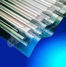 Clear Mini Corolux Roof Sheets (10ft - 3050mm)
