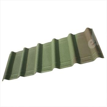 Green Onduvilla Bitumen Roofing Tiles (Pack Of 7)