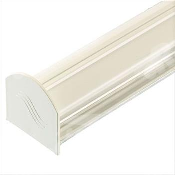White 3m Corotherm Glazing Bar With Endcap (For 10mm, 16mm, 25mm Polycarbonate)