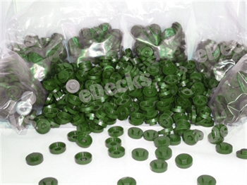 Tech Bolt Caps (Juniper Green - INDIVIDUAL)