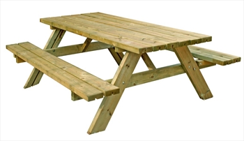 6 Person Outdoor Picnic Table