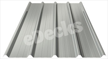 Anti Condensation Plastisol Coated Goosewing Grey Box Profile Steel Sheets (6ft - 1828mm)