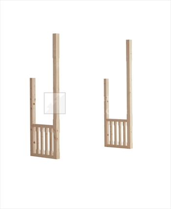 Dwarf Wall Stop Chamfered Balustrade Kit