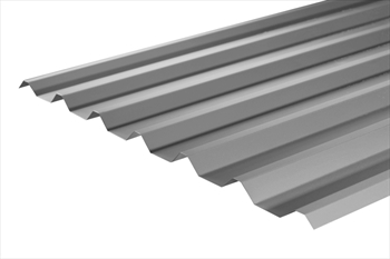 Plastisol Coated Merlin Grey Box Profile Sheet (16ft - 4877mm)