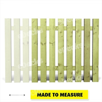 Green - Tudor Heavy Duty Single Start / End Panel (Made to Measure)