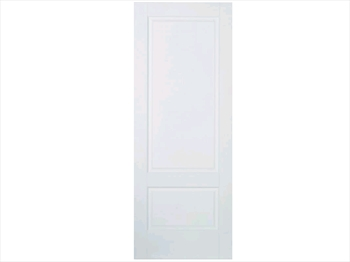 Solid White Brooklyn 2 Panel Door (Metric)