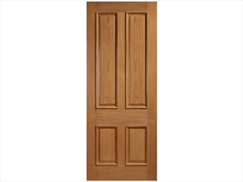 Galicia 4 Panel Oak Door (Imperial)