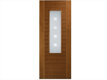 Coruna Glazed Walnut Door (Imperial)