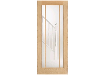 Lincoln Glazed Oak Door (Imperial)