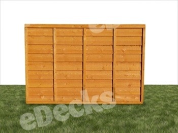 The UK's Strongest Overlap Fence Panel (6ft x 6ft)