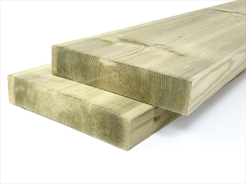 Treated Planed Square Edge Timber (225mm x 50mm)