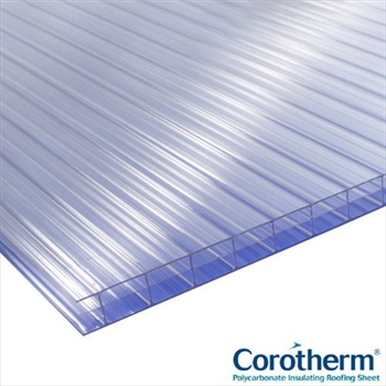 Clear Multiwall Polycarbonate 16mm (2500mm x 1050mm)