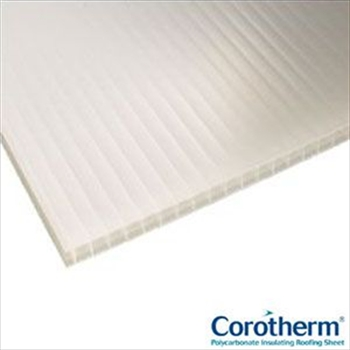 Opal Multiwall Polycarbonate 16mm (3000mm x 2100mm)