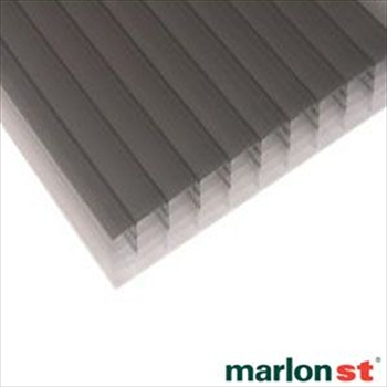 Heatguard Opal Multiwall Polycarbonate 25mm (2000mm x 2100mm)
