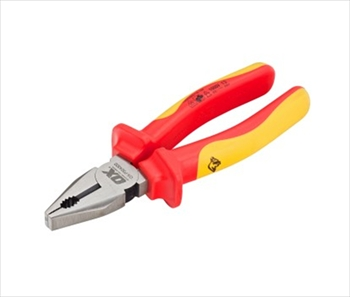 "OX Pro VDE Wire Combination Pliers 180mm (7"")"