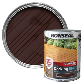 Ronseal Ultimate Protection Decking Stain 2.5L (Mahogony)