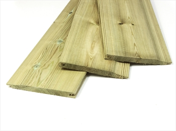 Cut to size - Treated Shiplap / Cladding (12mm x 120mm)