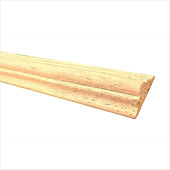 Light Hardwood Double Astragal (21mm x 8mm x 2400mm)