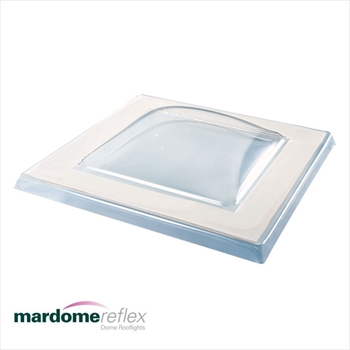 Double Skin - Mardome Reflex Dome Rooflight (900mm x 1800mm)