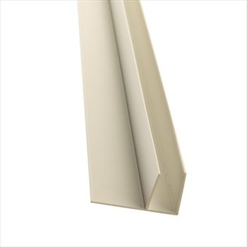 White 10mm Polycarbonate Side Flashing (3000mm)