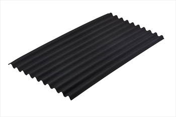 Black Onduline Bitumen Sheet (3.0mm)