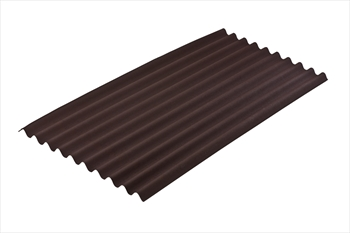 Brown Onduline Bitumen Sheet (3.0mm)