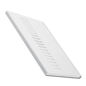 605mmx9mmx5m White Pre-Vented Soffit Board