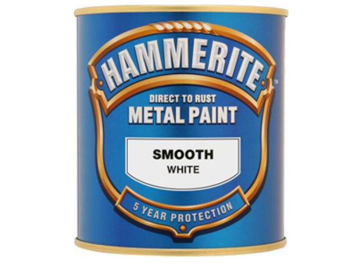 Hammerite Smooth (250ml - White)