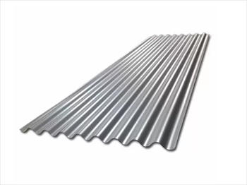 812mm - Galvanised Corrugated 10/3 Roof Sheets (8ft x 2440mm)