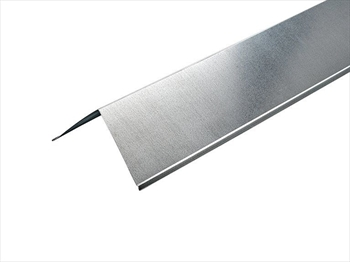 Galvanised Angled Ridge (90° - 200mm x 200mm x 2500mm)