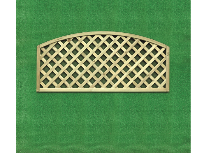 Heavy Diamond Lattice Convex Trellis (0.6m x 1.8m)