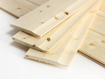 Cut to size - Untreated Shiplap / Cladding (12mm x 120mm)