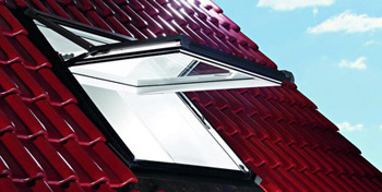 Top-Third Pivot Roof Window PVC No Collar (1340mmx1400mm)