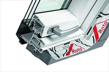 Top-Third Pivot Roof Window PVC With Collar (740mmx1180mm)