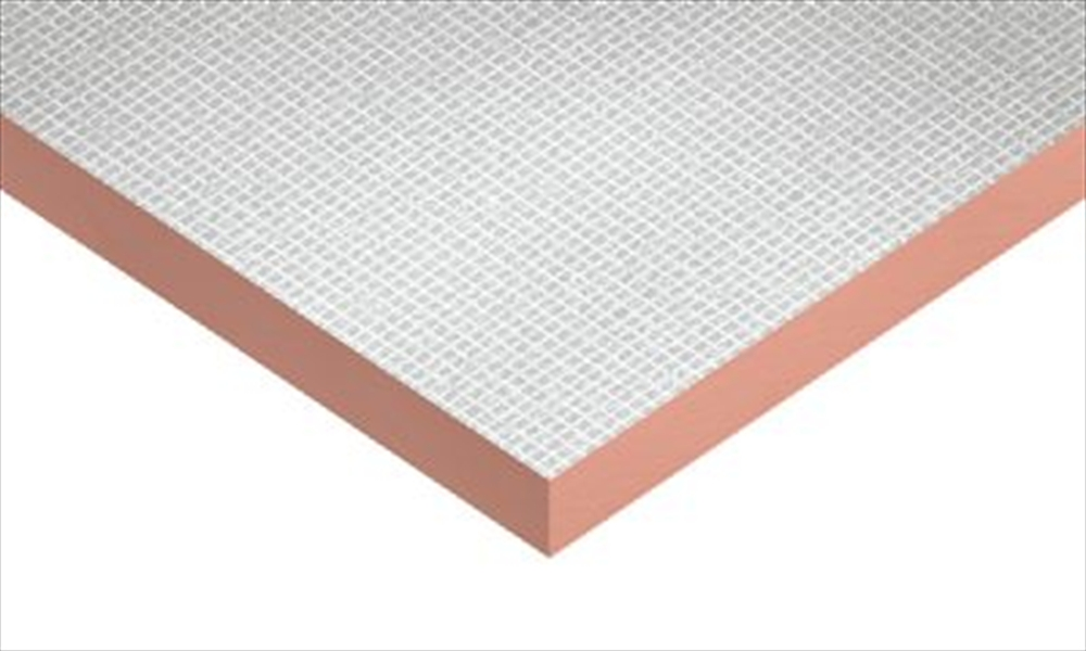 Foiled rigid insulation board 100mm 2400mm x 1200mm for 100mm kingspan floor insulation