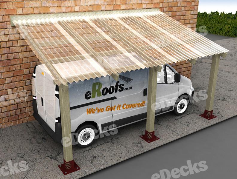 Carport Includes Mini Pvc Roof X