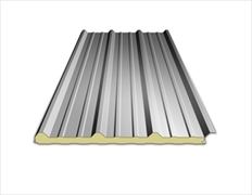 Insulated Box Profile Sheets Light Grey 30mm (4 Metre)