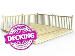 Reject decking kits edecks for Cheap decking kits sale