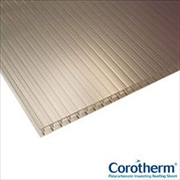Cut To Size - Bronze 16mm Corotherm Multiwall Polycarbonate
