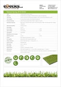 Natural Spring Artificial Grass (20mm)