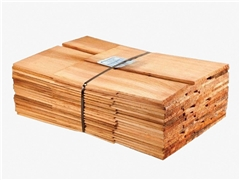 Blue Label - Treated Western Red Cedar Shingles (Pack Size 2.49m2)