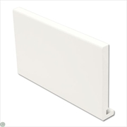 White Square Replacement Fascia (150mm x 16mm x 5m)