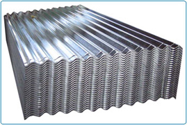 812mm - Galvanised Corrugated 10/3 Roof Sheets (12ft -3660mm)