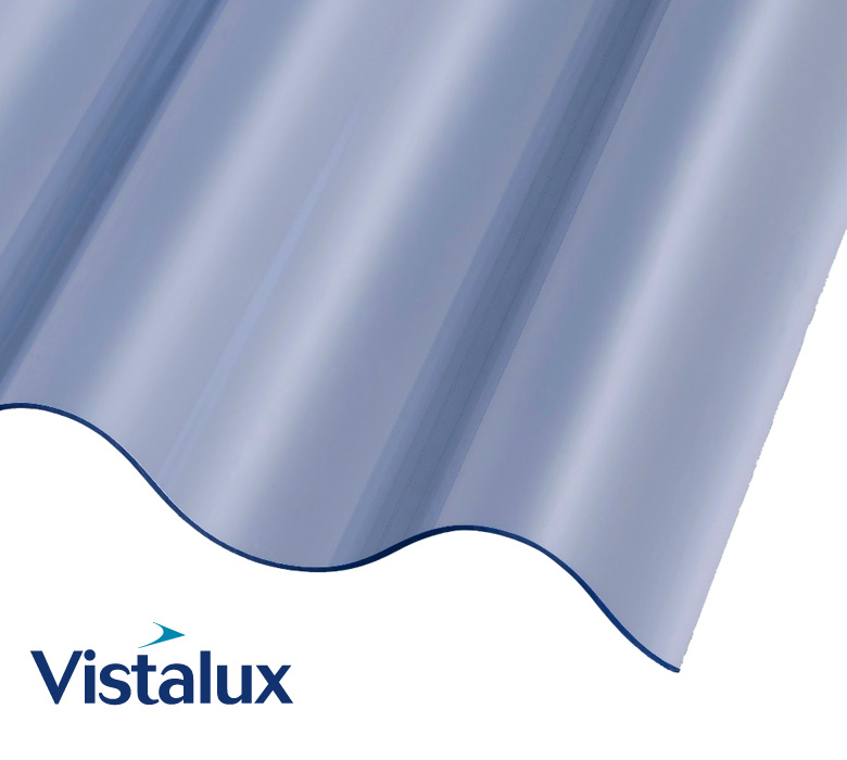 Cast Iron Profile 1.1mm PVC Roof Sheets