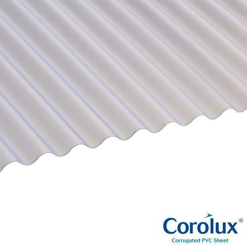 Translucent Corolux PVC Roofing Sheets
