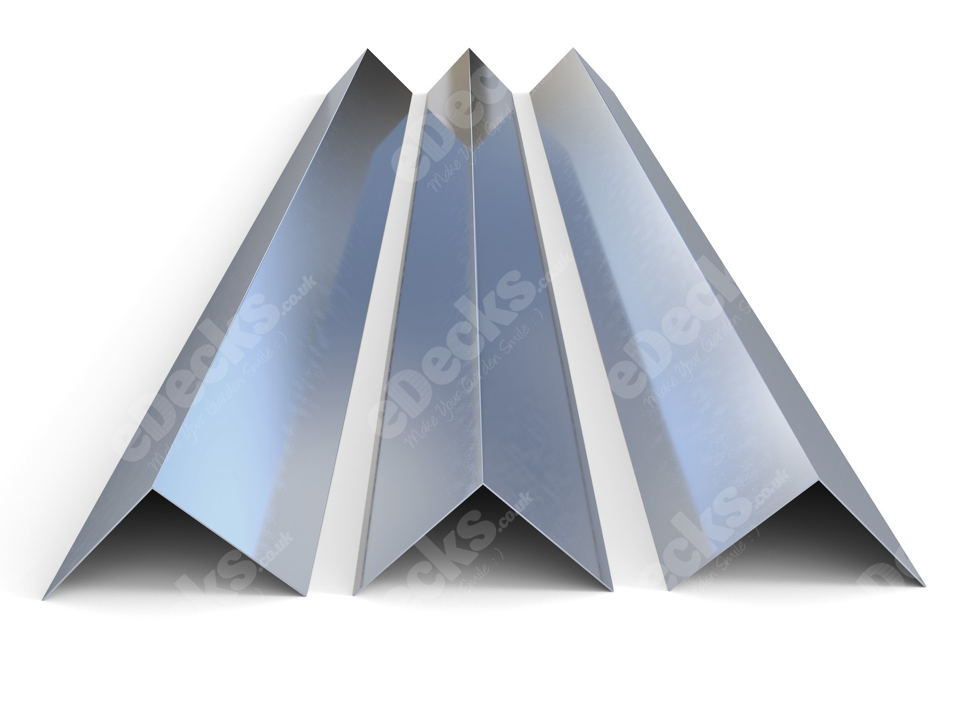 Galvanised Box Profile Roof Sheet Accessories