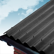 Black Coroline Bitumen Roof Sheets