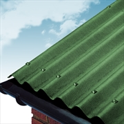 Green Coroline Bitumen Roof Sheets