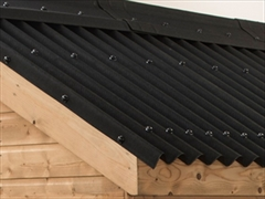 Black Onduline Bitumen Roof Sheets