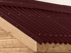 Red Onduline Bitumen Roof Sheets
